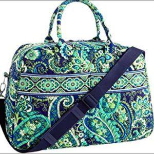 Vera Bradley Rhythm and Blues Weekender Bag
